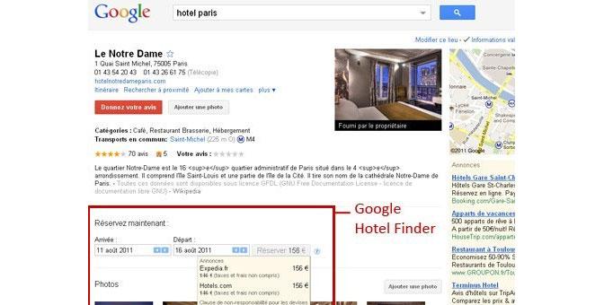 google hotel finder le m ta moteur de recherche de